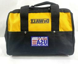 New Dewalt Heavy Duty Ballistic Nylon Tool Bag 13 x 9 x 9 w/