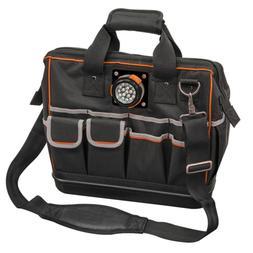New Klein 15-1/4 in Tradesman Pro Organizer Lighted Tool Bag