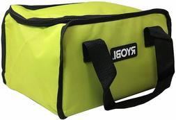 New RYOBI Lime Green Genuine OEM Tool Tote Zipper Tool Bag,