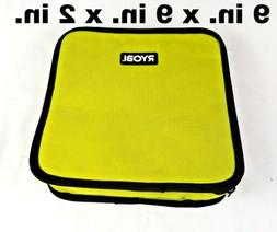 New RYOBI Lime Green Genuine OEM Tool Tote Zipper Tool Bag,