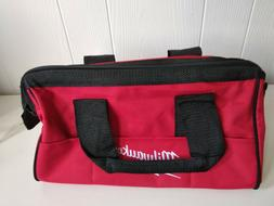 "New Milwaukee Tool Bag 13"" x 6"" x 8"" Heavy Duty Canvas Tool"