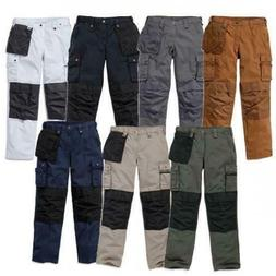New Carhartt Multi Pocket Rip Stop Work Pants With Removable