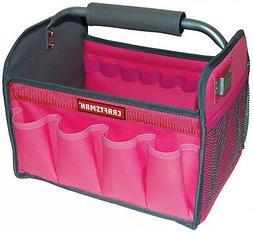New Craftsman Pink 12 in Tool Set Tote Bag Gardening Workman