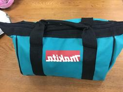 New Makita Zipper Bag. From XDT131 kit.  Fits one each tool,