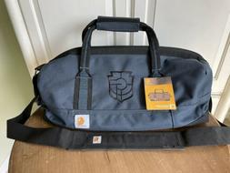 """NWT CARHARTT 20"""" Signature Series Navy Blue Embroidered To"""