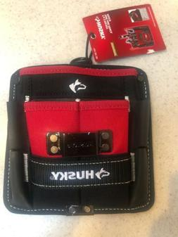 NWT Husky 7 inch 3 Pocket Tape and Pencil Pouch-Tool Bag/Bel