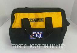 """DeWalt Nylon 13"""" x 11"""" x 9"""" Contractors Medium Tool Bag Tote"""