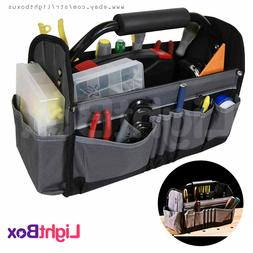 Tool Bag Open-Top Carrier Tool Tote Strong Work Multi Compar