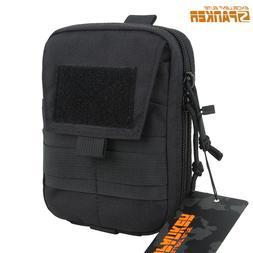 EXCELLENT ELITE SPANKER Outdoor Double Zipper Waist Pack Tac