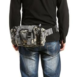 Outdoor Military Tactical Waist Pack Belt Bags Camping Hikin