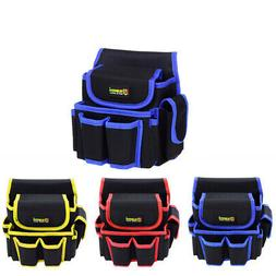 Multi-Pockets Waist Tool Bag Utility Carry Pouch Electrician