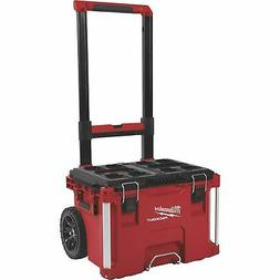 Milwaukee Packout Rolling Toolbox - 22.1in.L x 18.9in.W x 25