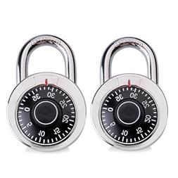 SEPOX Padlock, 50mm Dial Combination Padlock for Suitcase, T