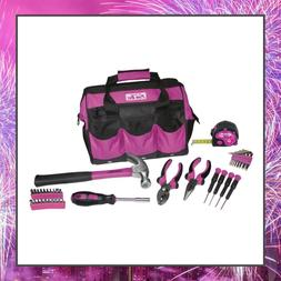 The Original Pink Box PB30TBK 30-Piece Tool Set, w/ 12-Inch