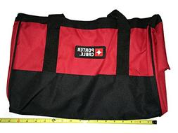 NEW Porter Cable PCCBAG4 Heavy Duty Big Mouth Tool Bag Contr