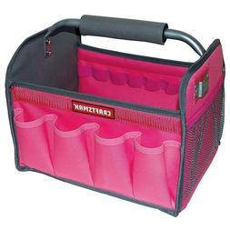 Craftsman PINK 12In. Tool Set Tote Bag Gardening Workman Org