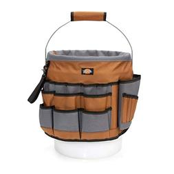 Dickies Work Gear 57103 35-Pocket Bucket Organizer With Dril