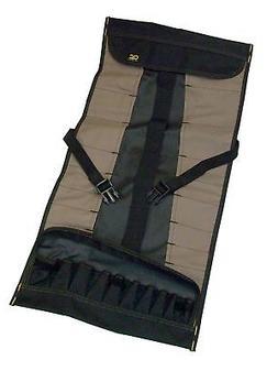 Custom LeatherCraft 1173 32-Pocket Socket Tool Roll Pouch Ne
