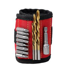 Polyester Magnetic Wristband Portable Tool Bag Electrician W