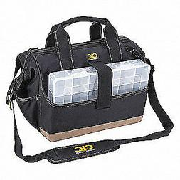 "CLC Polyester Tool Bag,23 Pockets,15""x9""x12"",Black, 1139, Bl"