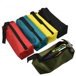 Portable Oxford Metal Parts Tool Bags Zipper Pouches Drill I