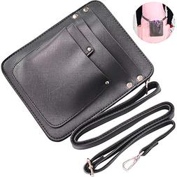 TINTON LIFE PU Leather Scissors Holder Bag with Adjustable S