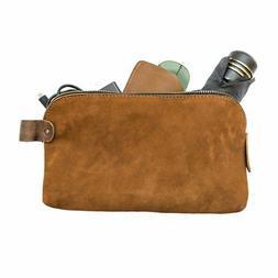 Large All Purpose Dopp Kit Utility Bag  Handmade by Hide & D