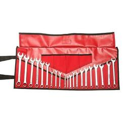 Bull Tools PVC Laminated 26 Pocket Wrench and Tool Roll Pouc