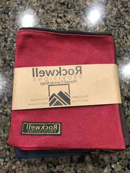 Rockwell Provision Waxed Canvas Zipper Tool Provisions Bags