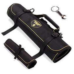 Roll Organizer Bag worthy with 2x pack Rolling Tool Bag Wate