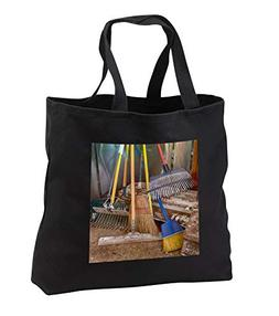 Roni Chastain Photography - Garden Tools - Tote Bags - Black