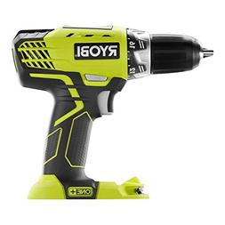 Ryobi P208 One+ 18V Lithium Ion Drill/Driver with 1/2 Inch K
