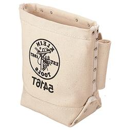 SALE Klein Tools Bull-Pin and Bolt Bag Canvas with Tunnel Lo
