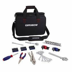WORKPRO Tool Set, 143-piece Home Repair Tool Kit in Heavy Du