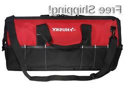 Husky 24 In Tool Shoulder Bag Big Tools Organizer with Strap