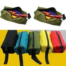 Small Parts Hand Tool Plumber Electrician Zipper Tool Bag Po