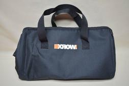 "Worx Small Tool Bag Tool Tote Multi Use 12"" L x 6"" W 7"" H"