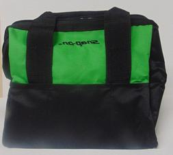 Snap On Canvas Tools Bag Brand New Extreme Green Measures 12
