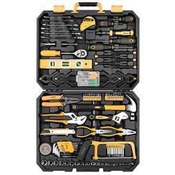 DEKOPRO 168 Piece Socket Wrench Auto Repair Tool Combination