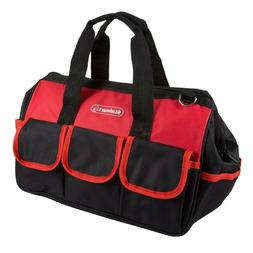 Soft Sided Tool Bag with Handles 14 x 11.5 x 7 Wide Mouthed