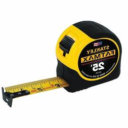 """Stanley 33-725 25' x 1-1/4"""" FatMax Tape Rule Reinforced with"""