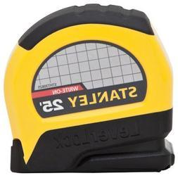 "Stanley STHT30825 Lever Lock Tape Rule, 25' x 1"""