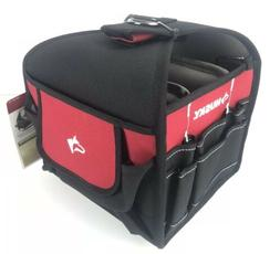 Tool Storage Bag Husky 9 Inch All Trade Bag Tape Measure Cli