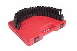 Sunex Tool SU3342 42 Piece .38 in. Drive Impact Socket Set