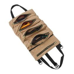 Super Tool Bag Big Canvas Tool Roll Pouch Roll-Up Organizer