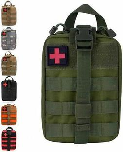 Tactical MOLLE Rip-Away EMT IFAK Medical Pouch First Aid Uti