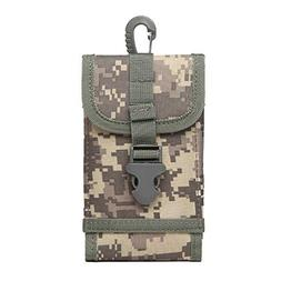 Tactical MOLLE Smartphone Holster Pouch Outdoor Belt Clip Po