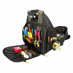 tool backpack organizer tools bag many pockets