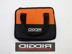 RIDGID TOOL BAG  CARRYING CASE HOLDER FOR DRILL, IMPACT, & B