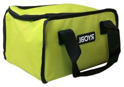 "RYOBI TOOL BAG 12"" long X 8"" high  X 10""  wide CANVAS FROM"